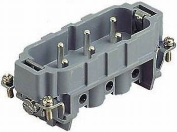 Connector HAN-6HSB-MS Harting 09310062601 Male