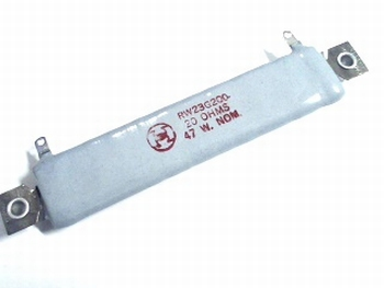 Ceramic resistor 20 Ohm 47 Watt  RW23G200