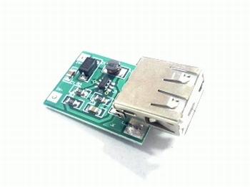DC-DC boost converter 0,9V-5V naar 5 Volt USB uitgang