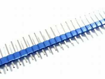 Connecting strip 40 pins color Blue