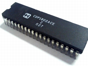 CDP1802ACE microprocessor