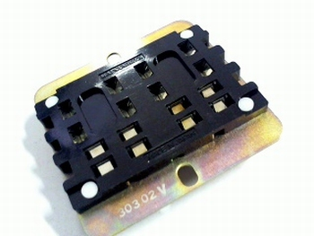 Relay socket HP4-SRS for HP4 four pole relay
