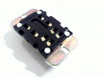 Relaisvoet HP2-SRS voor HP2 2-polig relais