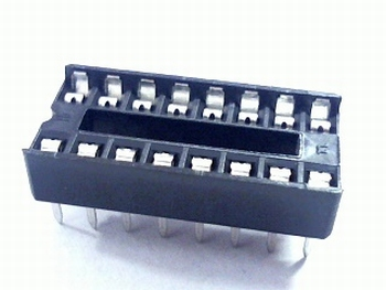 16 pins standard IC socket