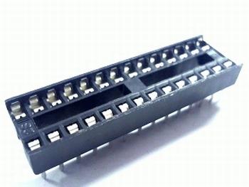 IC voet 28 pins smal standaard