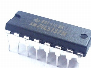 74LS137 3-to-8 Line Decoder with Address Latches