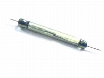 Reed switch  SPST 110VAC, 1W, 0,1A - 19x2mm