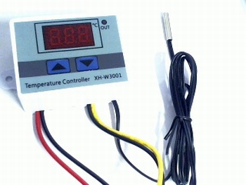 Digitale LED-temperatuurregelaar 24V 240W met sensor