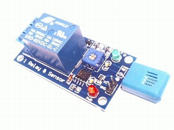 Humidity dependent relay module