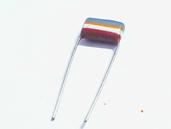 MKT capacitor 68 nF 250V