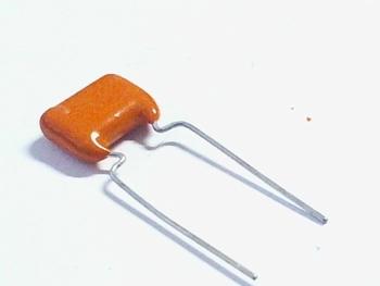 MKT capacitor 120 nF 100V