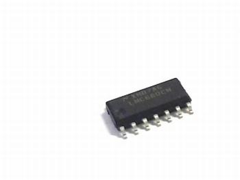 LMC660CM High performance quad opamp DIP14