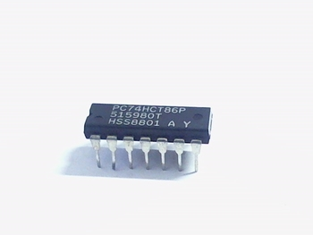 74HCT86 quad 2-input Exclusive-OR Gate DIP14