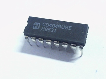 CD4049 Hex Inverting Buffer/Converter DIP16