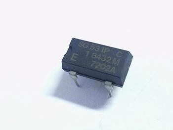 Quartz kristal oscillator 1,8432 mhz DIP