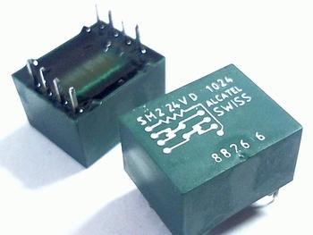 Relay SM2-24V-D1024 Reed-Relais, Alcatel