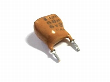 Tantal capacitor 68uF 16volts