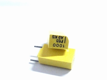 Styroflex capacitor 1nF radial RM5