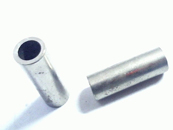 Metal distance holder 16mm round diameter 5mm