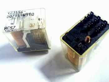 Relay V23154-D0715-B110- 12 volt 4PDT