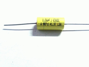 Capacitor 0,56uF 63V low ESR