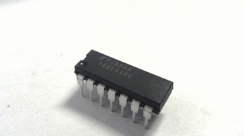 74AC04 Hex invertor