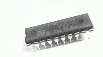 74HCT574 Octal D-type flip-flop positive edge-trigger 3-stag