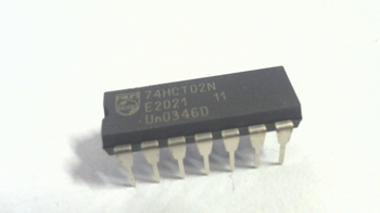 74HCT02 Quad 2-input NOR gate 14pin DIP