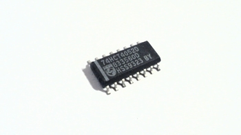 74HCT4052D Dual 4-channel analog multiplexer/demultiplexer