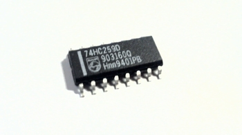 74HC259D 8 BIT ADDRESSABLE LATCH 16 pin SOIC
