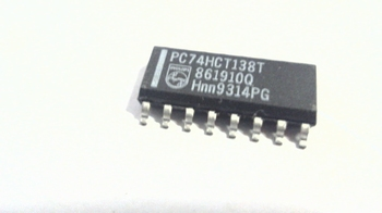 74HCT138T 3-to-8 line decoder/demultiplexer, inverting SMD