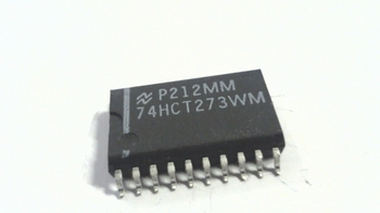 74HCT273WM 8 kanaals D flip-flop positive trigger SMD