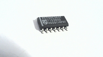 74HC393T Dual 4−StageBinary Ripple Counter SMD