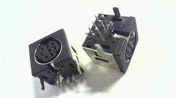 Mini DIN 8 pin connector
