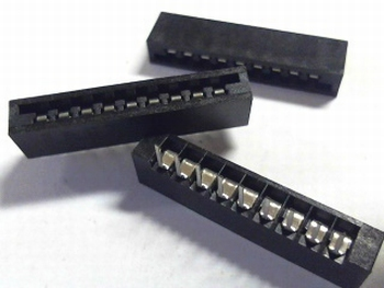 FFC / FPC connector 7x small 2.54RM Molex