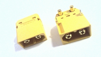 XT60 male connector for throughole PCB