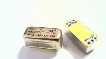 Relais Meder NP-CL-1A81-9-21 SPST 10 OHM 1 Form - SPDT