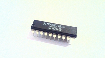 MC68HC705J1A microcontroller