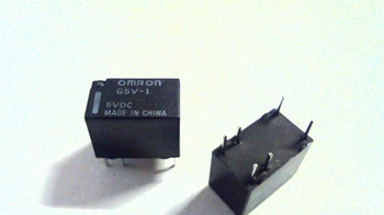 5 Volts relay OMRON G5V-1 DPST