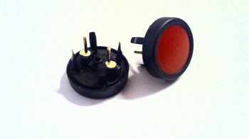 Pushbutton momentary switch waterproof