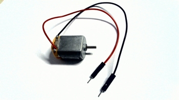DC motor 3 Volts DC with connection wires