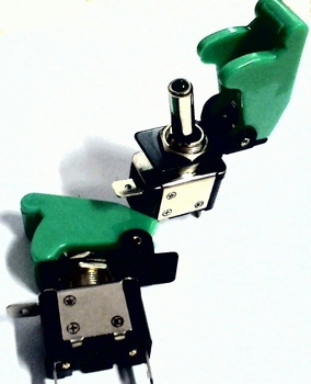 Killswitch GREEN ON/OFF 12 Volts 35A