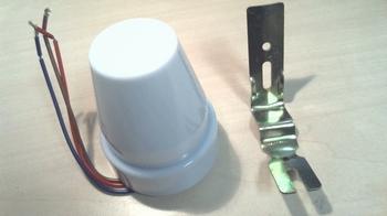 Schemerschakelaar 230V 10A, Schakelt afhankelijk van licht