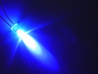 Led blue 5mm bright