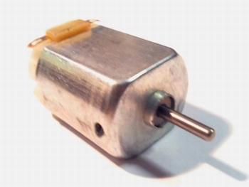 Gelijkstroom motor 3 V