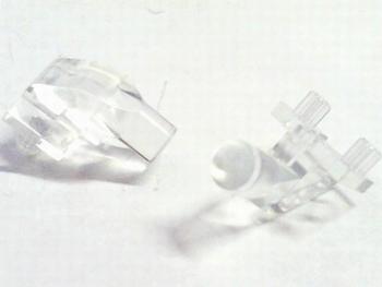 Led licht geleider voor 3mm led