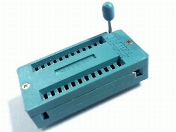 ZIF socket 24 pins
