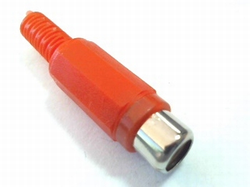 Standard cinch / tulip / RCA contra plug