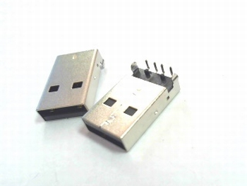 USB A ingang voor printmontage low profile