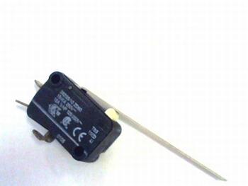 Micro schakelaar met zeer lange 55mm hefboom